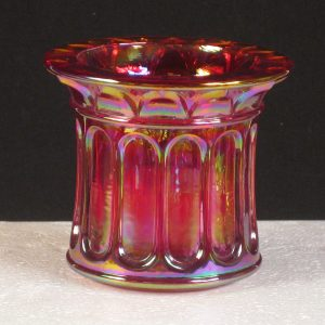 Fenton Red #C9778 RN Carnival Glass Candle Votive