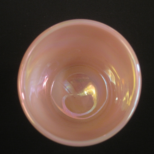 Fenton Rosalene Apple Tree Carnival Glass Tumbler