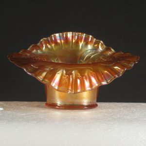 Antique Fenton Marigold Flowering Dill Carnival Glass JIP Hat