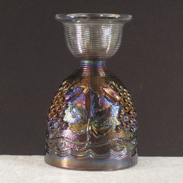 Imperial Smoke Imperial Grape Carnival Glass Eggcup Juice Glass