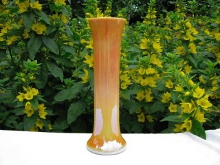 Antique Imperial Marigold Milkglass Lead Lustre Iridescent Art Glass