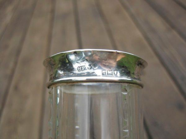 Antique Stuart & Sons Webb English Art Glass Vases - Pair