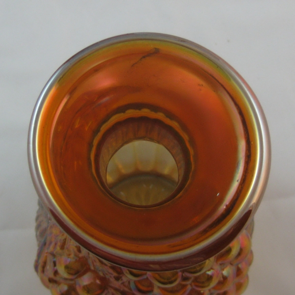 Antique Imperial Marigold Imperial Grape Carnival Glass Water Carafe