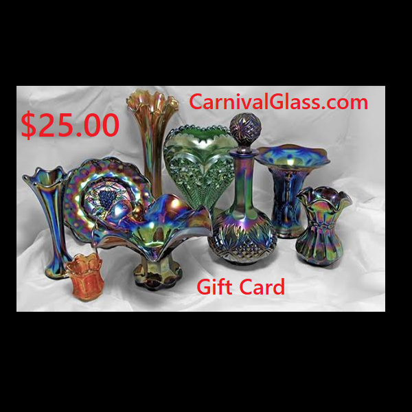 $25 CarnivalGlass.com Gift Card