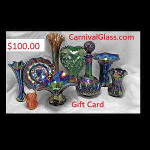 $100 CarnivalGlass.com Gift Card