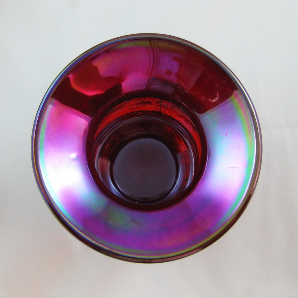 Fenton Ruby Red Seacoast Carnival Glass Spittoon