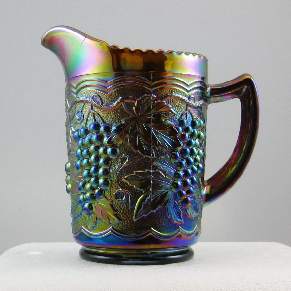 Imperial Amber Imperial Grape Carnival Glass Milk Pitcher