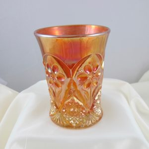 Antique Imperial Marigold Four Seventy Four Carnival Glass Tumbler