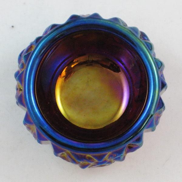 Summit Red Carnival Glass Rose Lattice Individual Salt