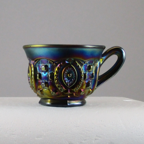 Antique Northwood Amethyst Memphis Carnival Glass Punch Cup