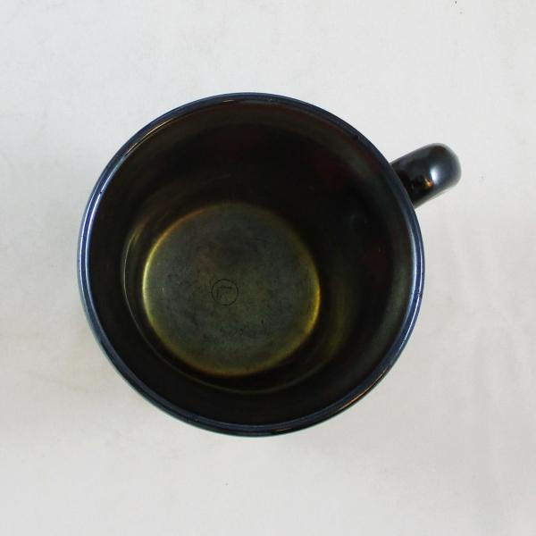 Antique Northwood Amethyst Dandelion Carnival Glass Mug