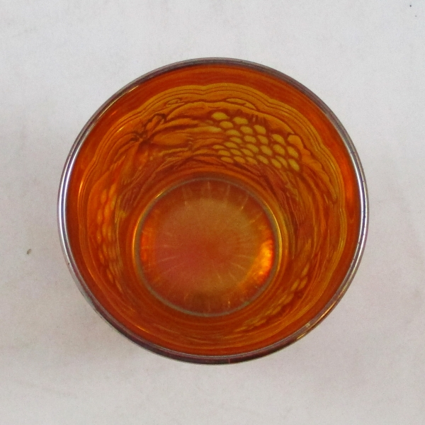 Antique Imperial Marigold Imperial Grape Carnival Glass Tumbler