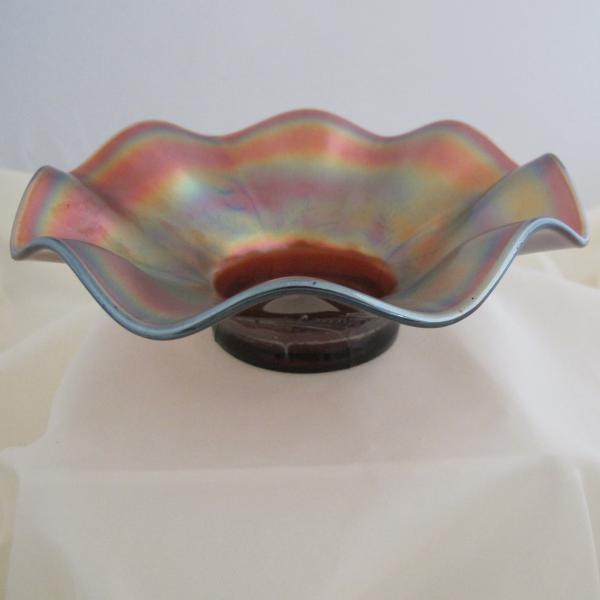 Antique Dugan Daisy Dear Amethyst Carnival Glass Bowl