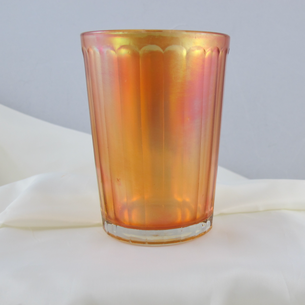 Antique U.S. Glass Rex Marigold Carnival Glass Tumbler
