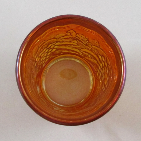 Imperial Marigold Imperial Grape Carnival Glass Tumbler
